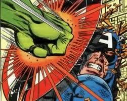 A un coup de poing de hulk