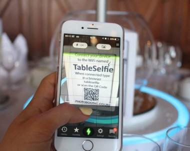 NEW Table Selfie Camera Centrepiece