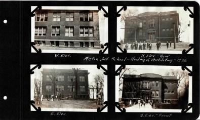 Views of Acton High School in 1926.