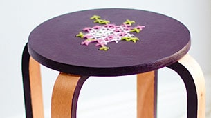 embroidery-stool
