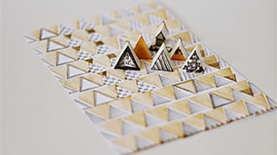 triangle-stamps