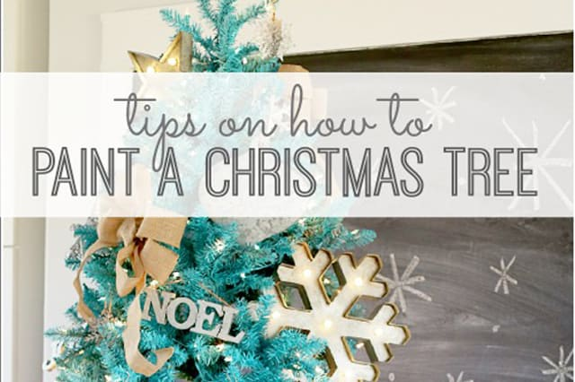 how-to-paint-a-Christmas-tree