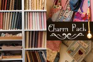 Charm Pack - Σεμινάρια και υλικά πάτσγουορκ
