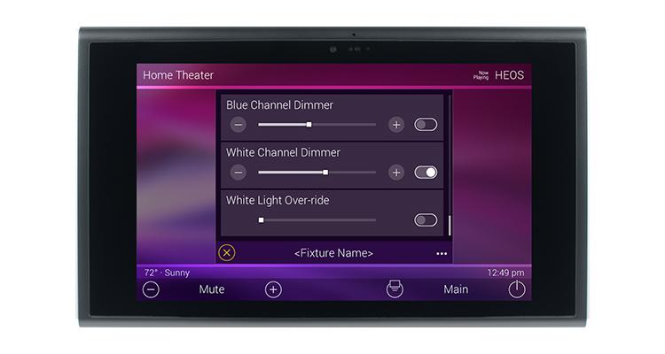 urc integrates dmx lighting control