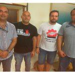 Reunión del la FTSP-USO de Extremadura y PODEMOS
