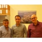 Reunión de la FTSP-USO Galicia con el Coordinador de Seguridad Ciudadana del Ayuntamiento de A Coruña.