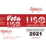 Nota informativa FTSP-USO. Acta final y redactado definitivo. Convenio Colectivo Sectorial Empresas de Seguridad Privada 2021.
