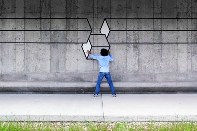 3D Street Art 10 640x426 Arte Urbana em 3D