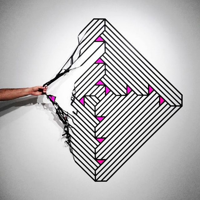 3D Street Art 7 640x640 Arte Urbana em 3D