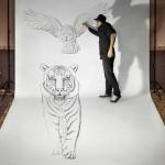 Amazing 3D Pencils Drawings 6