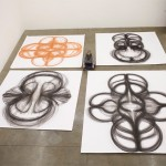 Physical Movement Translated into Symetrical Drawings 10
