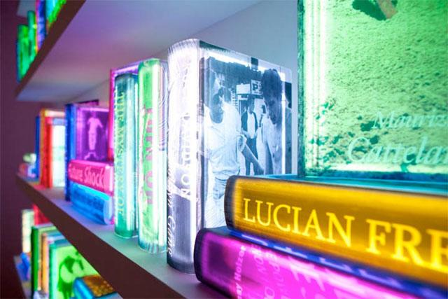 Neon Books by Airan Kang