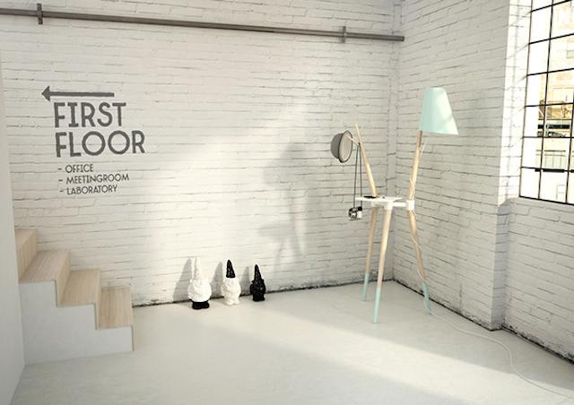 Trio Lamp by Nicola Conti