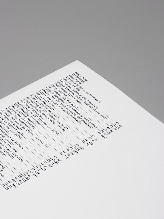 Aphex Twin's Boxset by The Designers Republic