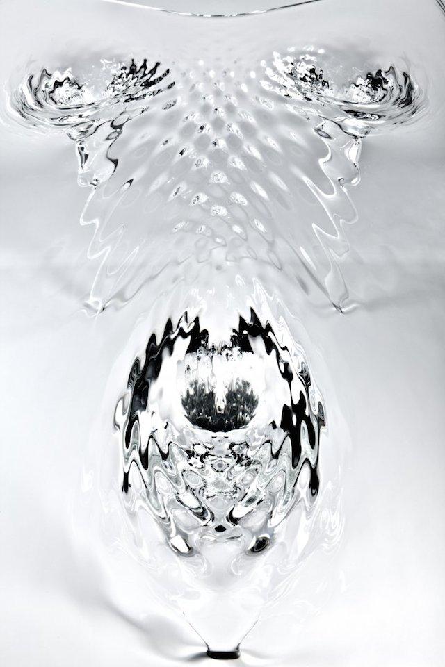 Liquid Glass Table By Zaha Hadid
