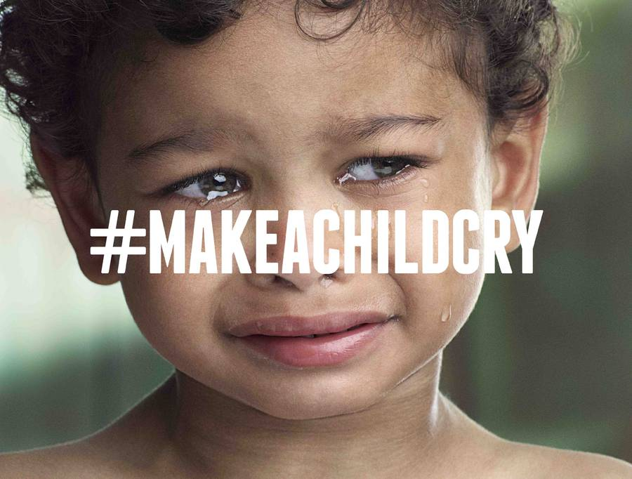 Digital of life - Make a Child Cry Campaign