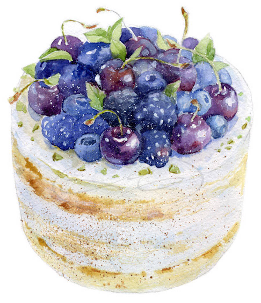 Exquisite Food Illustrations By Olga Moskaleva Fubiz Media