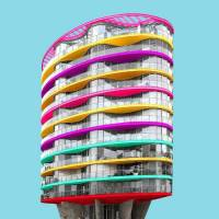 Vibrant & Colorful Architecture Photography