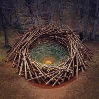 Nature Land Art Installations