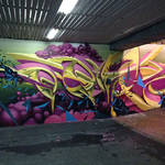 Beautiful and Graffiti Murals by Peeta-7