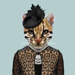 New Humanized Animals by Zoo Portraits-11