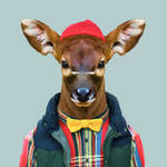 New Humanized Zoo Animals by 3-Portraits