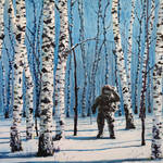 Nice Paintings of Astronauts in Diverse Situations-4