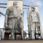 Gigantic Wall and Realistic Portraits in Arkansas 5