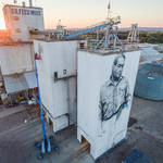 Realistic Portraits and Gigantic Wall-7 in Arkansas