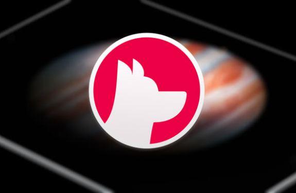 Astropad Logo auf schwarzem iPad