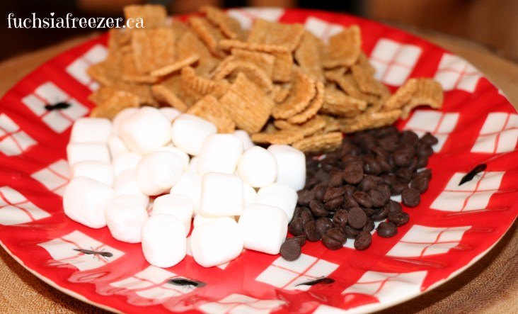 Crackers, Marshmallows & Chocolate