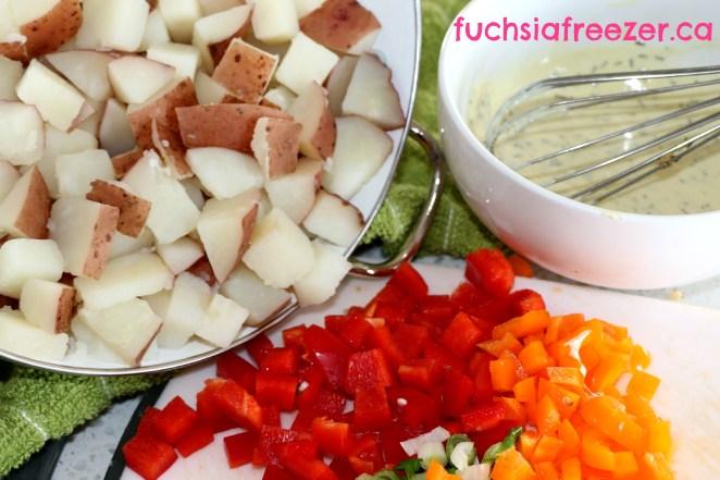 Potato Salad Mixings
