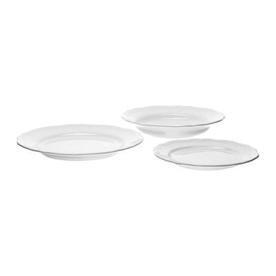 ARV 18-piece Dinner wear Set in White