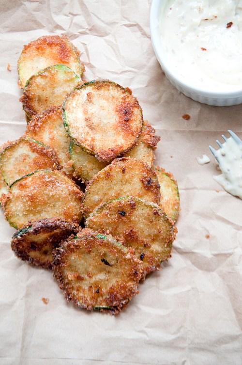 Crispy-Zucchini-with-Honey-Mustard-Aioli