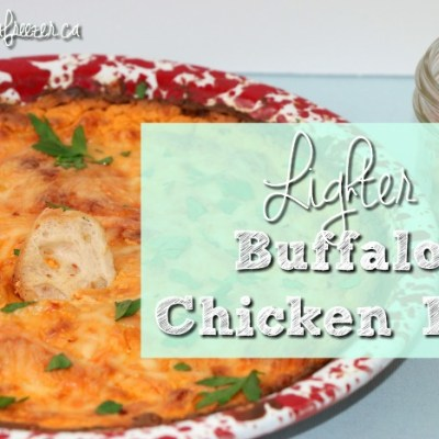 Lighter Buffalo Chicken Dip