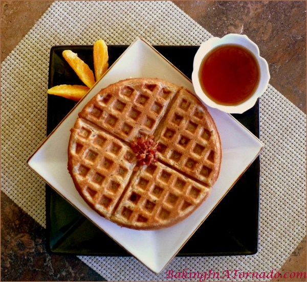 Coffee and Bacon Wake Up Waffles