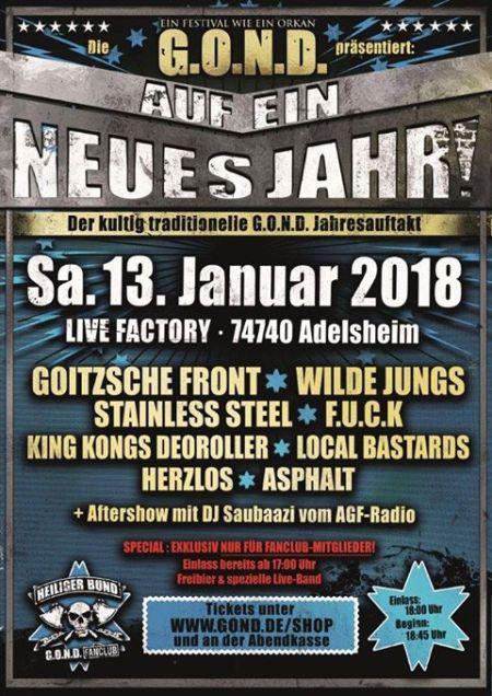 Auf ein neues Jahr 2018 in Adelsheim