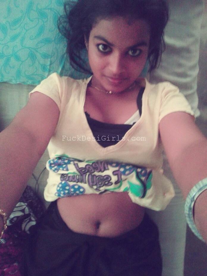 Horny Sri Lankan Gf Showing Big Boobs-9060