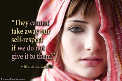 Quote about self-respect