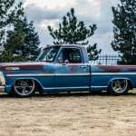 1969 Ford F100 Patina Barn Find Half And Half Fuel Curve