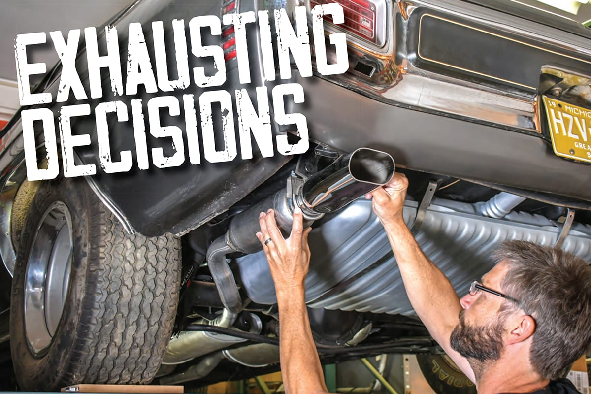 a guide to exhaust systems and components
