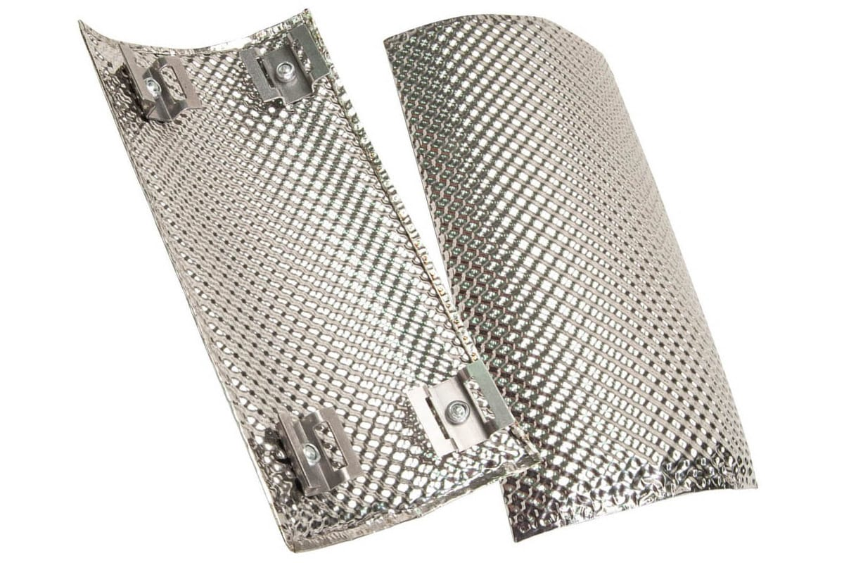stainless steel pipe heat shields from