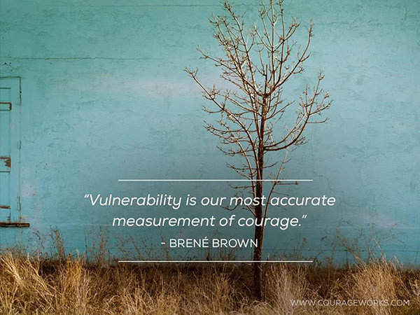 Image result for vulnerability courage