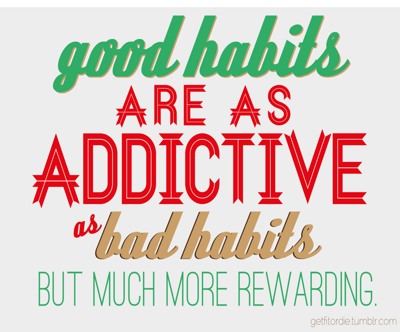 Runner Things Good Habits Are As Addictive As Bad