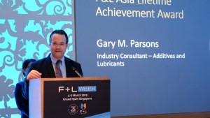 Gary Parsons recognised for 37 years of industry service