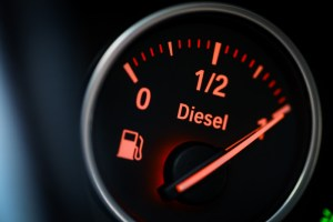Fuel economy gains constrained by falling diesel sales