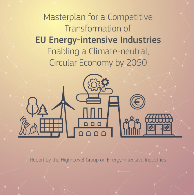 Masterplan for a Competitive Transformation of EU Energy-intensive industries