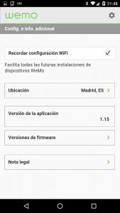 WeMo-Settings-Conf. adicional