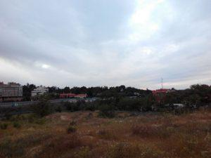 """Estado actual del APR 08.02 """"Joaquín Lorenzo"""". En estos terrenos algún día se levantarán varios bloques de viviendas."""