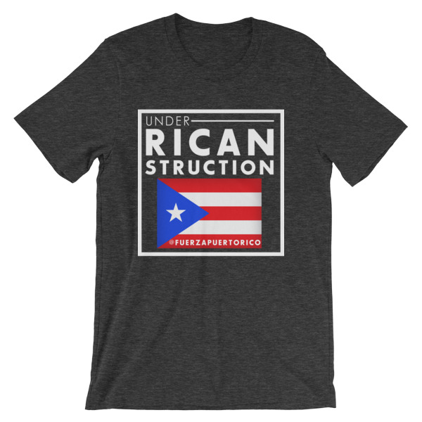 UNDER RICANSTRUCTION Short-Sleeve Unisex T-Shirt